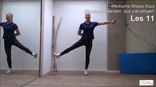 Medische fitness thuis-les 11, wat pittiger